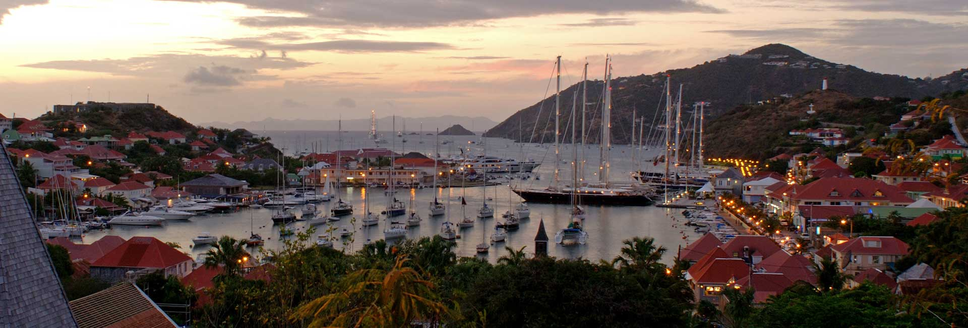 Jean-Philippe Piter : port de Gustavia - Saint-Barthélémy