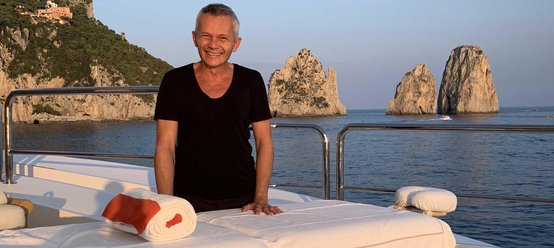 Portrait de Christophe Marchesseau