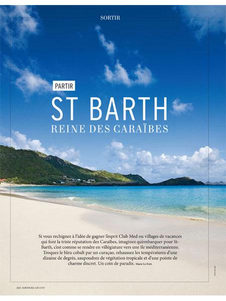 St Bart officiel levant